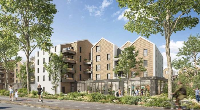 Appartements neufs Bruges référence 5816 : aperçu n°0