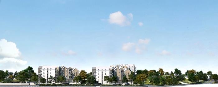 Appartements neufs Bruges référence 5816 : aperçu n°2