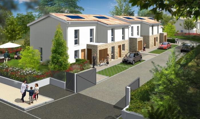 Maisons neuves Villenave-d'Ornon référence 5853 : aperçu n°0