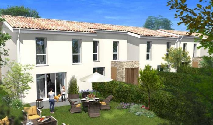 Maisons neuves Villenave-d'Ornon référence 5853 : aperçu n°2