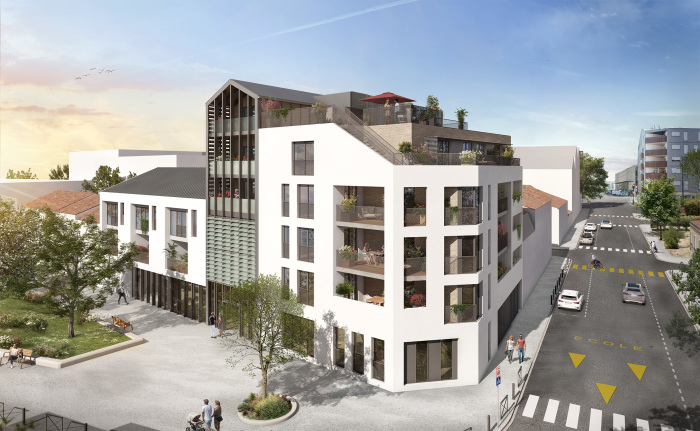 Maisons neuves et appartements neufs Les Chartrons référence 5845 : aperçu n°0