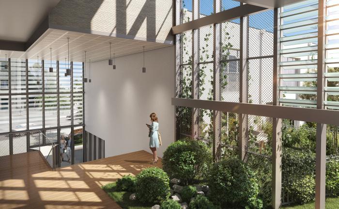 Maisons neuves et appartements neufs Les Chartrons référence 5845 : aperçu n°1