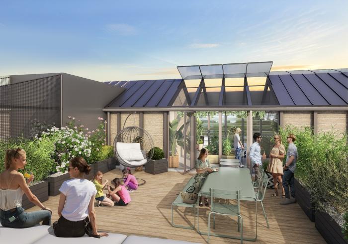 Maisons neuves et appartements neufs Les Chartrons référence 5845 : aperçu n°3