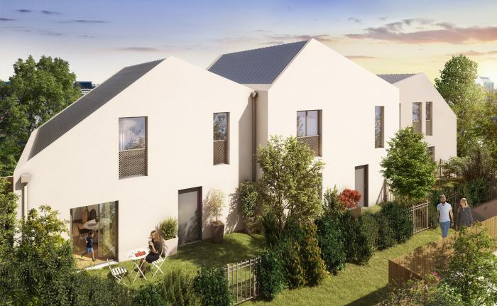 Maisons neuves et appartements neufs Les Chartrons référence 5845 : aperçu n°4
