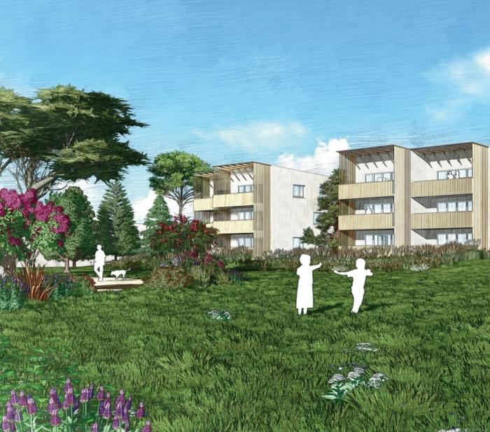 Appartements neufs Carbon-Blanc référence 5887 : aperçu n°0
