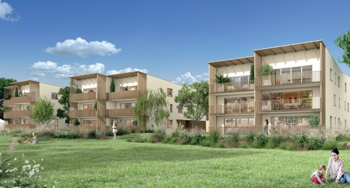 Appartements neufs Carbon-Blanc référence 5887 : aperçu n°2