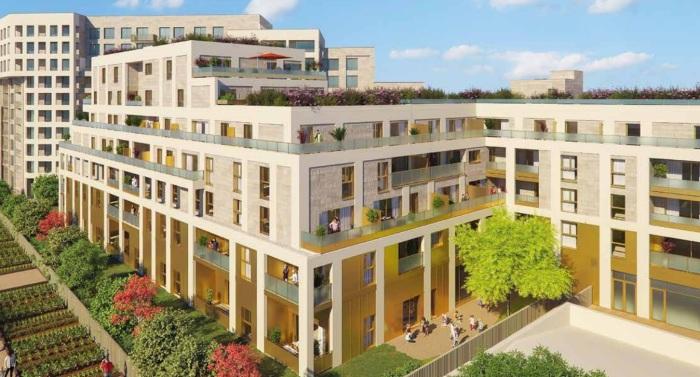 Appartements neufs St Jean référence 5839 : aperçu n°2