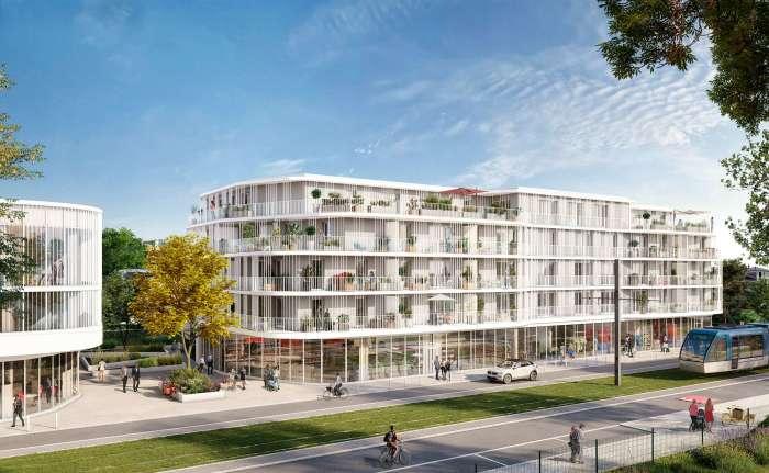 Maisons neuves et appartements neufs Le Bouscat référence 5848 : aperçu n°3