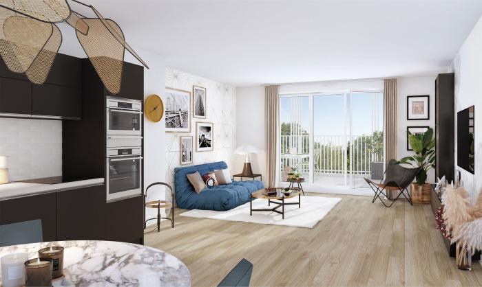 Maisons neuves et appartements neufs Le Bouscat référence 5848 : aperçu n°1