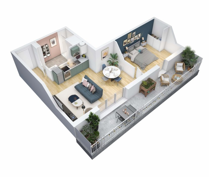 Maisons neuves et appartements neufs Le Bouscat référence 5848 : aperçu n°2
