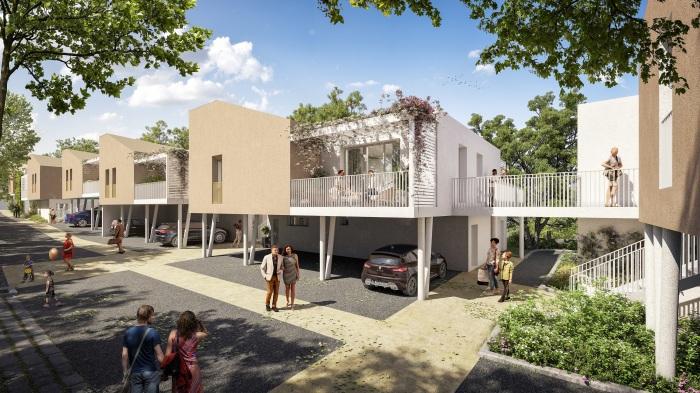 Appartements neufs Artigues-près-Bordeaux référence 5862 : aperçu n°2