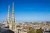 Investissement locatif Bordeaux –  la capitale du vin vue du ciel