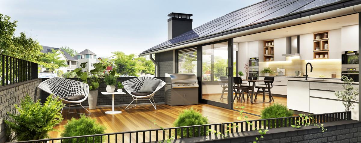 Maison neuve Bordeaux – vue sur une maison moderne