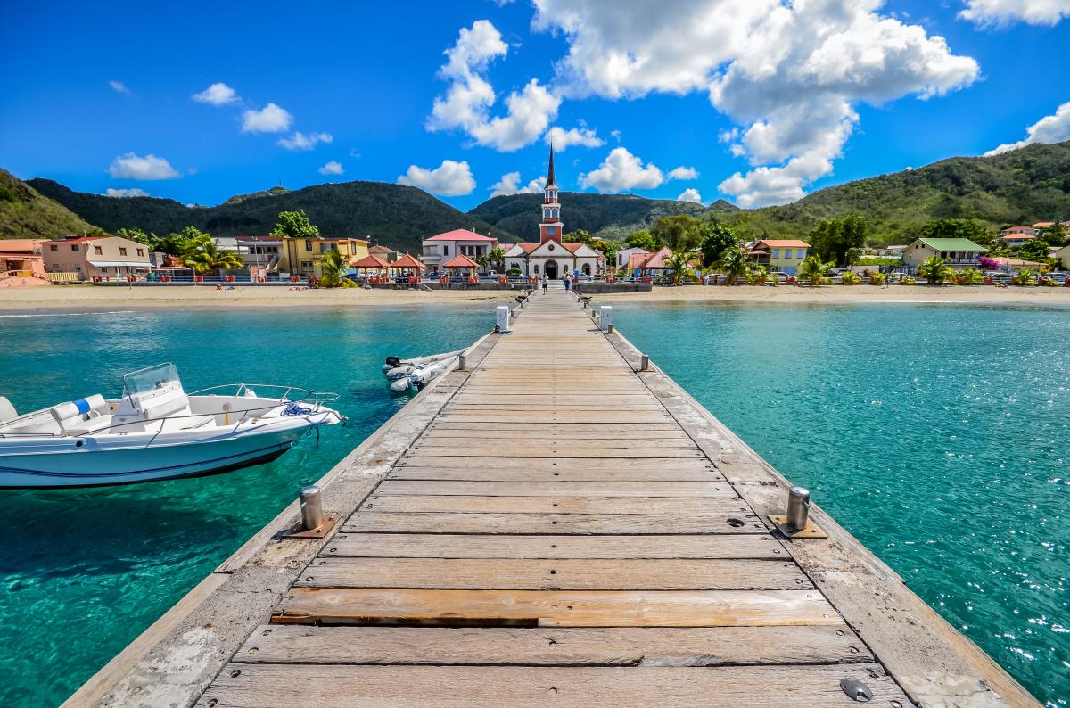 Dispositif Girardin, Ponton des Anses d'Arlets Martinique