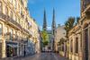 Vue du centre historique de Bordeaux et de sa cathédrale