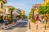 habiter à bordeaux - Une rue commerçante d'Arcachon