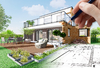 habiter à bordeaux - Une conception 3D d'une maison neuve