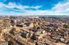 location appartement neuf bordeaux - vue aérienne de la ville de Bordeaux et de ses toits
