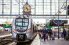 Friche Terrefort – Train en gare de Bordeaux Saint-Jean