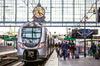 Valérie Lasek Bordaux Euratlantique – Train à quai en gare de Bordeaux Saint-Jean