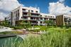 Boulevard des frères Moga à Bordeaux – vue sur un programme immobilier neuf et des espaces verts
