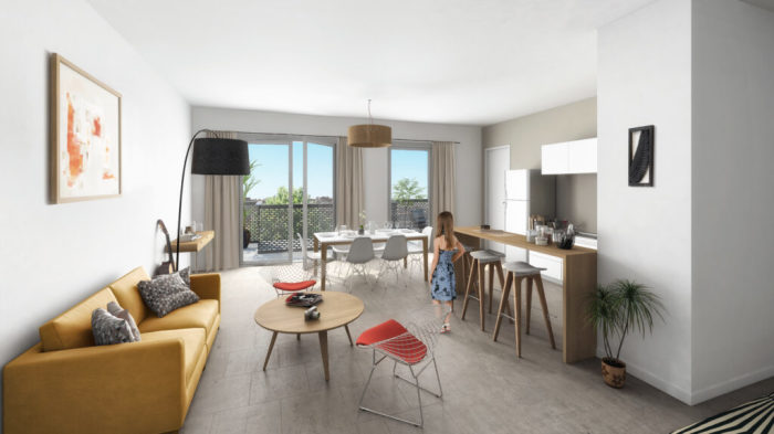 Appartements neufs Villenave-d'Ornon référence 5896 : aperçu n°1