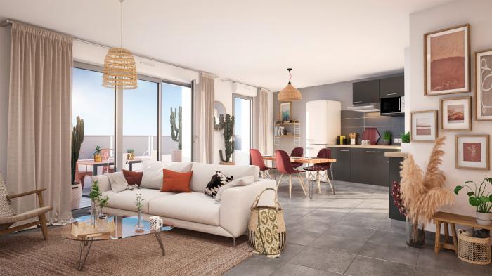 Appartements neufs Villenave-d'Ornon référence 5904 : aperçu n°1