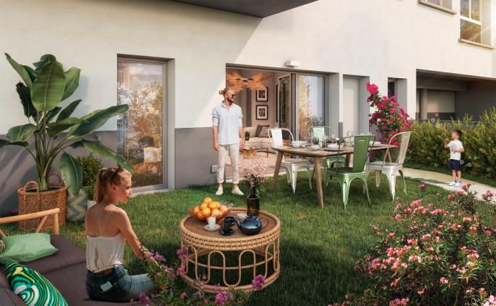 Appartements neufs Villenave-d'Ornon référence 5904 : aperçu n°3