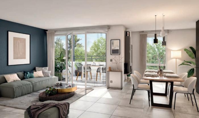Appartements neufs Villenave-d'Ornon référence 5941 : aperçu n°1