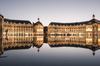 Réhabilitation à Bordeaux Mériadeck – vue sur le miroir d'eau à Bordeaux